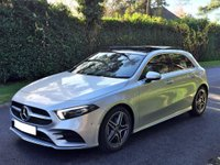 USED 2018 68 MERCEDES-BENZ A-CLASS 1.3 A200 AMG Line (Premium Plus) 7G-DCT 4dr