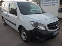 USED 2015 65 MERCEDES-BENZ CITAN 1.5 109 CDI LWB BLUEEFFICIENCY, 90 BHP
