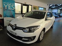 USED 2015 65 RENAULT MEGANE 1.5 DYNAMIQUE NAV DCI 5d 110 BHP Owned by one local company from new, full service history, supplied with first Mot. Very economical & £zero road tax.