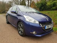 USED 2013 13 PEUGEOT 208 1.2 INTUITIVE 5d 82 BHP **£20 ROAD FUND**FANTASTIC CONDITION**DRIVES SUPERB**