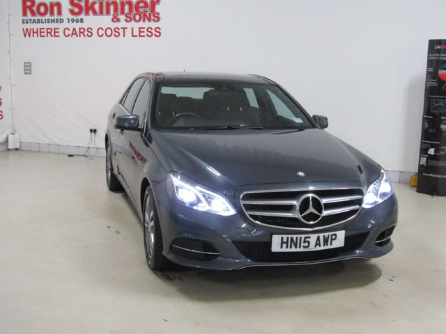 View our 2015 15 MERCEDES-BENZ E CLASS 2.1 E250 CDI SE PREMIUM 4d 201 BHP