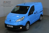 USED 2014 64 NISSAN NV200 0.0 E ACENTA RAPID PLUS 6d AUTO 108 BHP AIRCON VAN FULLY ELECTRIC FREE ROAD TAX