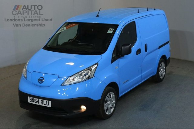2014 64 NISSAN NV200 0.0 E ACENTA RAPID PLUS 6d AUTO 108 BHP AIRCON VAN FULLY ELECTRIC FREE ROAD TAX