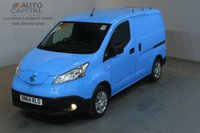USED 2014 64 NISSAN NV200 0.0 E ACENTA RAPID PLUS 6d AUTO 108 BHP AIRCON VAN FULL ELECTRIC FREE ROAD TAX