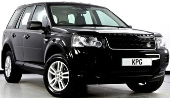 2013 LAND ROVER FREELANDER 2 2.2 TD4 Black and White 4X4 5dr Auto £12995.00