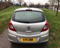 USED 2011 11 VAUXHALL CORSA 1.2 S 5d 83 BHP VERY BRIGHT CLEAN CAR: