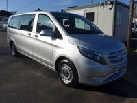 2017 MERCEDES-BENZ VITO 114 BLUETEC 9 SEATER TOURER PRO, 136 BHP [EURO 6], AIR CON £19995.00