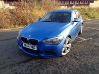 2014 BMW 1 SERIES 2.0 118D M SPORT 5d AUTO 141 BHP £12750.00