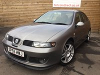 USED 2006 55 SEAT LEON 1.9 FR TDI 5d 148 BHP 1 PREVIOUS OWNER