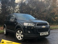 USED 2013 63 CHEVROLET CAPTIVA 2.2 LT VCDI 5d 184 BHP FANTASTIC 7 SEAT FAMILY SUV