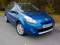 USED 2009 59 RENAULT CLIO 1.5 DYNAMIQUE DCI 5d 85 BHP * £30 Road Tax*