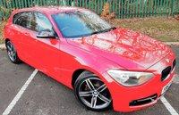 USED 2012 62 BMW 1 SERIES 1.6 116I SPORT 3d 135 BHP