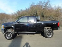 USED 2011 11 CHEVROLET SILVERADO 6.0 V8 VORTEC AUTOMATIC 4X4 SUPER CAB PICK UP (LHD) LIFTED SUSPENSION* AIR-CON+EX MONSTER ENERGY