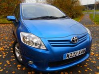 2011 TOYOTA AURIS 1.6 TR VALVEMATIC MM 5d AUTO 132 BHP  ** AUTOMATIC, YES ONLY 39,905 MILES FROM NEW ** £5995.00