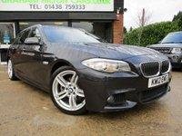 2012 BMW 5 SERIES 2.0 520D M SPORT TOURING 5d AUTO 181 BHP £13500.00