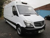 2016 MERCEDES-BENZ SPRINTER 313 CDi LWB High roof GAH FRIDGE VAN WITH STANDBY £19995.00