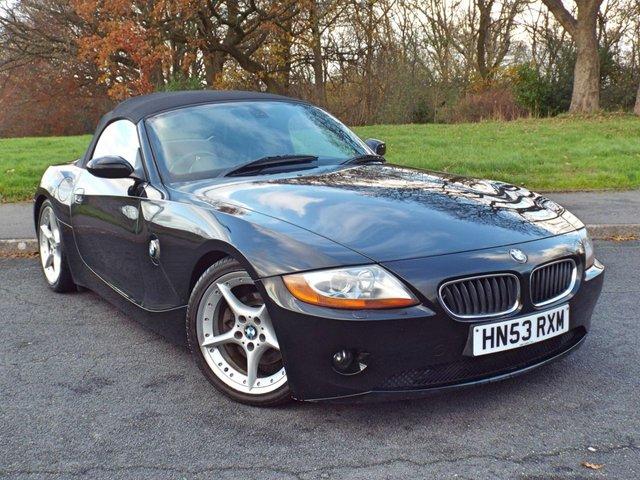 2003 53 BMW Z4 3.0 Z4 ROADSTER 2d 228 BHP