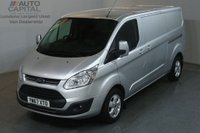 USED 2017 67 FORD TRANSIT CUSTOM 2.0 290 LIMITED 130 BHP L2 H1 LWB EURO 6 AIR CON VAN AIR CONDITIONING EURO 6 ENGINE