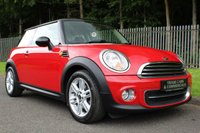 USED 2012 62 MINI HATCH COOPER 1.6 COOPER 3d 122 BHP A STUNNING ONE OWNER MINI COOPER WITH CHILLI PACK AND FULL HISTORY!!!