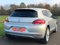"""USED 2008 58 VOLKSWAGEN SCIROCCO 2.0 GT 200 BHP 3DR COUPE (PEARL PAINT) +PEARL PAINT+ 18""""WHEELS"""