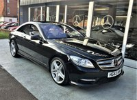 2014 MERCEDES-BENZ CL 4.7 CL500 BLUEEFFICIENCY 2d AUTO 435 BHP £22995.00