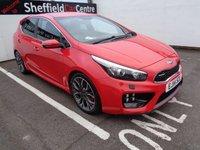 2014 KIA CEED 1.6 GT TECH 5d 201 BHP £9775.00