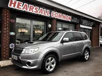 USED 2009 09 SUBARU FORESTER 2.0 D XSN 5d 147 BHP