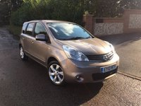2010 NISSAN NOTE 1.6 TEKNA 5d 110 BHP PLEASE CALL TO VIEW £4450.00