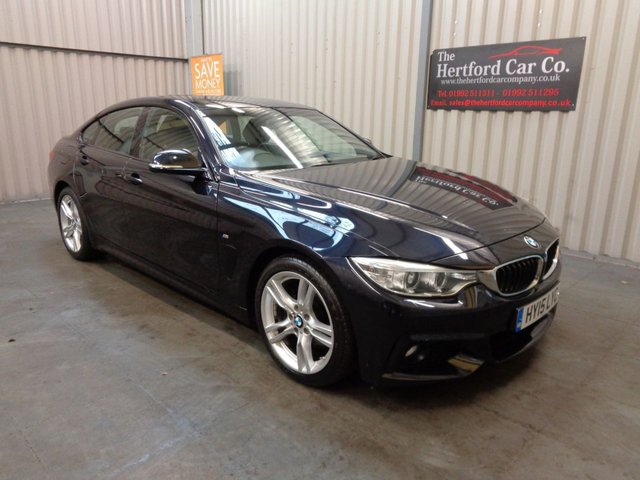 2015 15 BMW 4 SERIES 3.0 430D M SPORT GRAN COUPE 4d AUTO 255 BHP