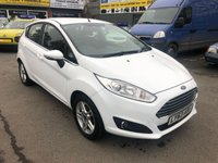 USED 2014 63 FORD FIESTA 1.0 ZETEC 5 DOOR 99 BHP IN WHITE WITH ONLY 10600 MILES AND ONLY 1 OWNER. APPROVED CARS ARE PLEASED TO OFFER THIS FORD FIESTA 1.0 ZETEC 5 DOOR 99 BHP IN WHITE WITH ONLY 10600 MILES AND ONLY 1 OWNER WITH A FULL SERVICE HISTORY SERVICED AT 2K,4K,6K AND 8K A OUTSTANDING CAR IN IMMACULATE CONDITION IN AND OUT WITH SUCH A LOW MILEAGE..