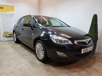 2012 VAUXHALL ASTRA 1.4 EXCITE 5d 98 BHP £SOLD