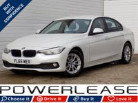 USED 2015 65 BMW 3 SERIES 2.0 320D ED PLUS 4d AUTO 161 BHP FREE TAX SAT NAV BLACK HEATED LEATHER