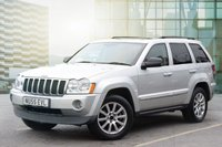 USED 2005 55 JEEP GRAND CHEROKEE 5.7 V8 HEMI LIMITED 5d AUTO 322 BHP SUPERB EXAMPLE WITH GREAT SERVICE HISTORY, 2 KEYS