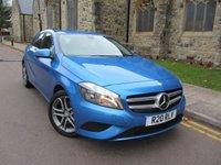 2013 MERCEDES-BENZ A CLASS 1.6 A180 BLUEEFFICIENCY SPORT 5d AUTO 122 BHP £11995.00