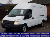 2013 FORD TRANSIT 125 350 LWB HIGH ROOF WITH FULL HISTORY £6995.00