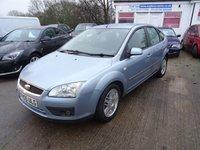 2005 FORD FOCUS 1.6 GHIA 16V 5d 116 BHP £1495.00