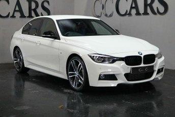 2018 BMW 3 SERIES 3.0 330D M SPORT SHADOW EDITION 4d AUTO 255 BHP £26995.00