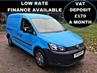 2013 VOLKSWAGEN CADDY MAXI 1.6 C20 TDI STARTLINE LOW MILES, HIGH SPEC, 1 OWNER,  £6995.00