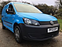USED 2013 13 VOLKSWAGEN CADDY MAXI 1.6 C20 TDI STARTLINE LOW MILES, HIGH SPEC, 1 OWNER,  GENUINE LOW MILES, HIGH SPEC, 1 OWNER,