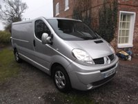 2014 RENAULT TRAFIC 2.0 LL29 SPORT DCI S/R 5d 115 BHP, Sat Nav, Air Con, Alloys Only 74k miles £7999.00