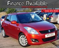 USED 2011 11 SUZUKI SWIFT 1.2 SZ4 5d AUTO 94 BHP FULL DEALER SERVICE HISTORY+ 1 FORMER KEEPER