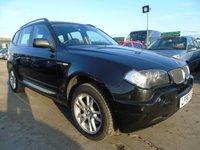 2006 BMW X3 2.0 D SE FULL SERVICE DRIVES A1  £3495.00