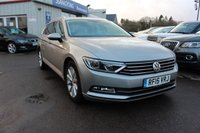 2015 VOLKSWAGEN PASSAT 2.0 SE BUSINESS TDI BLUEMOTION TECHNOLOGY 5d 148 BHP £8995.00