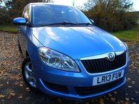 2013 SKODA FABIA 1.2 SE 12V 5d 68 BHP    ** ONE OWNER CAR, LOW TAX  ,INSURANCE GROUP 5 , YES ONLY 57K , SUPERB VEHICLE ** £4995.00