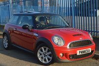 2012 MINI HATCH COOPER 1.6 COOPER S 3d 184 BHP £5295.00
