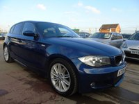 2008 BMW 1 SERIES 2.0 118D M SPORT DIESEL FULL SERVICE MINT £3795.00