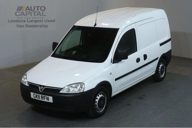 2011 11 VAUXHALL COMBO VAN 1.3 1700 CDTI SWB FWD 74 BHP CAR DERIVED VAN TWO OWNER FULL S/H