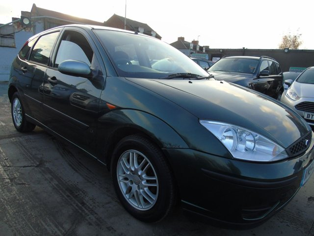 USED 2005 54 FORD FOCUS 1.6 LX FULL SERVICE LONG MOT DRIVES WELL