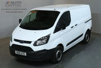 USED 2015 15 FORD TRANSIT CUSTOM 2.2 290 100 BHP SWB ECO-TECH FWD L1 VAN ONE OWNER S/H SPARE KEY