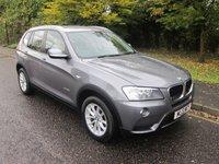 2013 BMW X3 2.0 XDRIVE20D SE 5d 181 BHP £16000.00